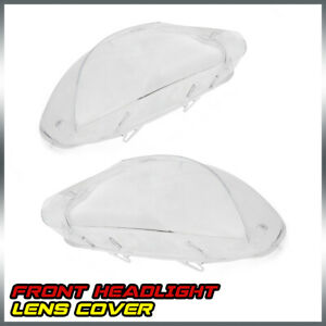 For 08 14 Bmw X6 E71 Replacement Left Right Side Headlight Lens Lamp Cover Clear