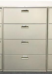 Hon 4 drawer Lateral File Cabinet 36 W X 19 25 D X 53 H