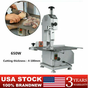650w Electric Frozen Meat Bone Cutting Sawing Machine Commercial Bone Sawing Usa