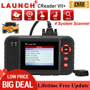 Automotive Abs Srs Engine Diagnostic Scan Tool Obd2 Code Reader Launch X431 Vii
