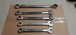 Craftsman Wrenches Lot Of 5 Set