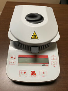 Ohaus Mb25 Grain Halogen Moisture Analyzer 0 005g Readability 110g Capacity
