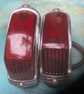 Two 1941 Cadillac Tail Lights Pair 41 New Photos