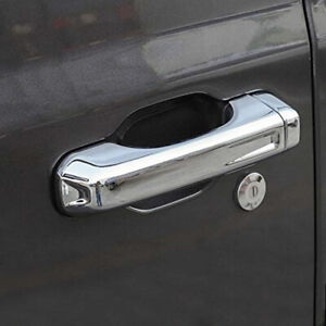 4x Chrome Door Handle Covers For 2020 Jeep Gladiator Jt 18 20 Jeep Wrangler Jl