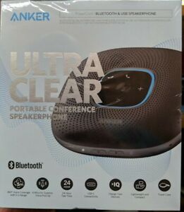Anker Ultra Clear Power Conference Bluetooth Usb Speakerphone A3301z11 cr
