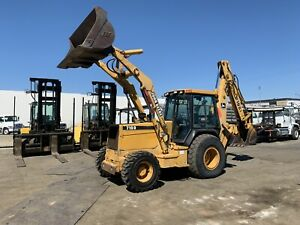 2002 John Deere 710 d 4wd Backhoe Wheel Loader Tractor