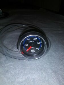 Autometer Cobalt 6121 Oil Pressure Gauge 100psi Mechanical