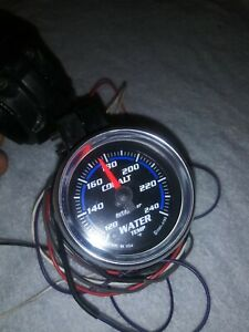 Autometer Cobalt 6155 Electric Water Temperature Gauge
