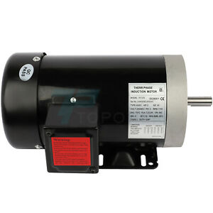 2hp Electric Motor For Air Compressor 3 Phase 1750rpm 60hz 230 460volt