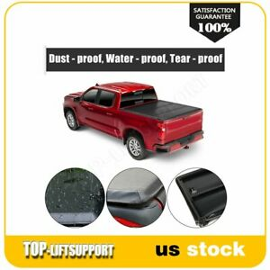 Truck Tri fold Tonneau Cover For 2005 2015 Toyota Tacoma 5ft Short Bed Soft