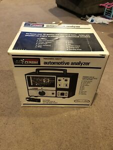 Vintage Sears Penske Automotive Analyzer 244 21043 Tested Complete In Box