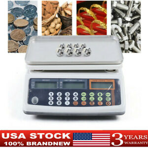 Digital Parts Coin Precise Counting Scale 66lb 0 001 Lb Capacity Inventory Usa
