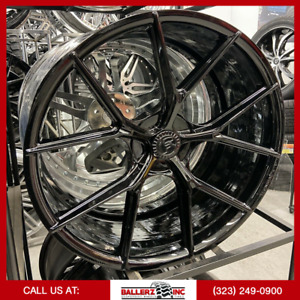 22 Forgiato Tec S 2 Wheels Giovanna Niche Diablo Foose Dub 22 Forgiato
