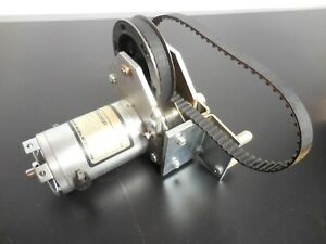 Litton Clifton Precision Jdh 2250 he 1c Dual Shafted Dc Motor With Gears Belts