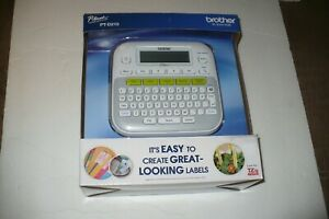 New Brother P touch Easy Compact Label Maker printer System Pt d210 Font Style