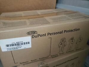 Dupont Tychem Qc122tyl3x000400 Size 3x Personal Protection Coveralls 4 Per Case