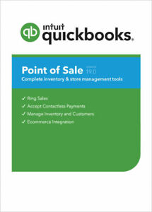 New Quickbooks Pos V19 Basic New User License Free Hardware Bundle