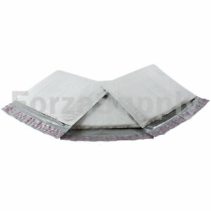 Lot 100 7 25 X 8 Ecoswift Brand Poly Bubble Mailers Padded Envelope