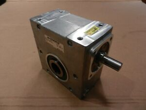 New Cone Drive 20 1 Worm Gear Speed Reducer Surplus