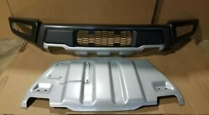 New Take Off 2017 2020 Ford Raptor Front Bumper W End Caps Skid Plate