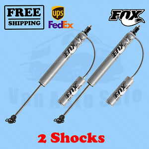 Fox Shocks Kit 2 2 3 5 Lift Front For Jeep Grand Cherokee Zj 93 98