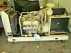 Kohler 80rz72 80kw 100 Kva 3p4w 277 480v Ford Natural Gas Standby Generator