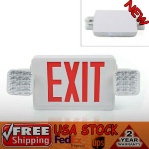 Red Led Exit Light Exit Sign