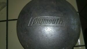 Plymouth Vintage Antique Hubcap 1933 1934 1935 1936 Dog Dish 33 34 35 36
