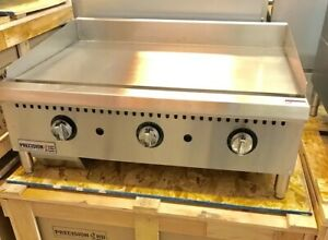 36 Griddle Thermostatic Flat Grill 3 New Thermostat Commercial Gas Temperature