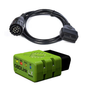 Obdlink Lx Bluetooth Bimmer Coding For Bmw Vehicle Motocycle 10pin Motoscan