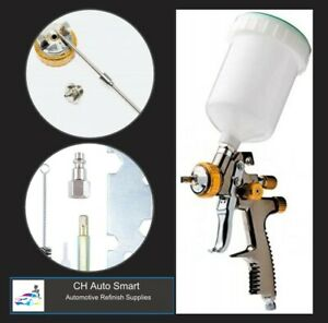 Premium Quality Gravity Feed Spray Gun Lvlp 1 8mm Free Shipping