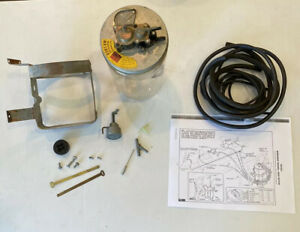 Nos 1958 1959 Chevrolet Truck Gm Accessory Windshield Washer Kit Complete 987825
