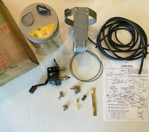 Nos 1957 Chevrolet Belair Car Gm Accessory Windshield Washer Kit Complete 987541