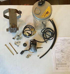 Nos 1958 1959 Chevrolet Truck Gm Accessory Windshield Washer Kit Complete 987826