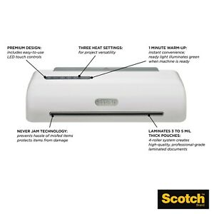 Scotch Professional 4 Roller Thermal Laminator 13in Input tl1306
