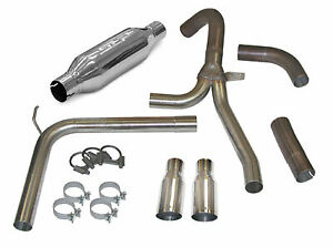 Slp Loudmouth Ii Cat Back Exhaust System 3 5 Tips For 98 02 Camaro Firebird