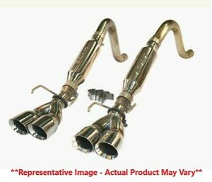 Slp Loudmouth Ii Axle back Exhaust W 3 5 Dual Tips For 09 13 Corvette C6 Ls3