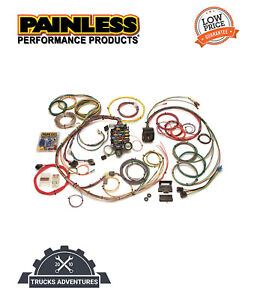 Painless Wiring 20101 24 Circuit Classic Plus Customizable Chassis Harness