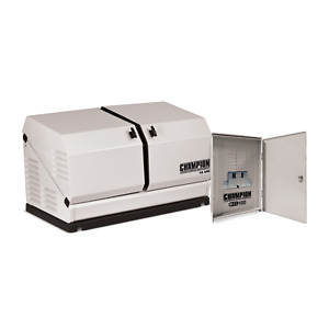 100292 14 kw Home Standby Generator With 100 amp Outdoor Switch