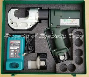 Greenlee Gator Ek1240 Battery Hydraulic Crimper 12 Ton U Die Crimping Tool