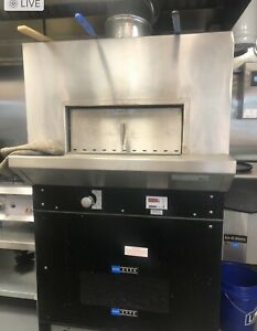 Woodstone Commercial Pizza Oven Pre owned Natural Gas
