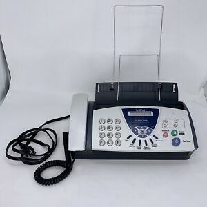 Brother Fax 575 Personal Plain Paper Fax Phone Copier Slightly Used