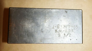 Kent Moore J 21777 85 Pinion Depth Gauge Plate 9 5 9 1 2 Axle