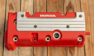 Honda K24 K20 Type R Accord Civic Rsx Valve Cover Powder Coated Jdm Wrinkle Red