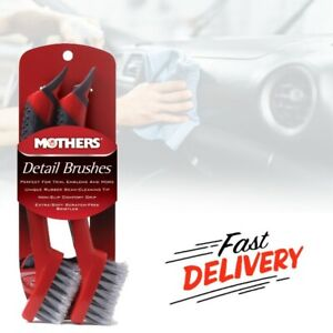 Car Detailing Brushes For Wheel Washing High Performance Cleaning Long Handle