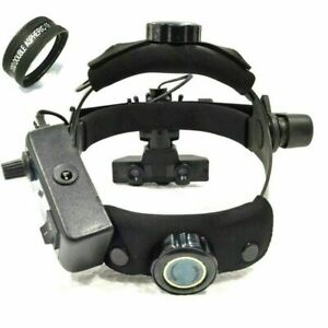Rechargeable Indirect Ophthalmoscope With 20 D Lens Accessories