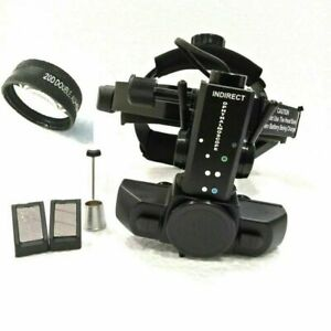 Free Shipping Binocular Indirect Ophthalmoscope With 20 D Lens Accessories
