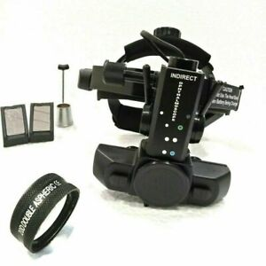 New Free Shipping Indirect Ophthalmoscope With 20 D Lens Carry Bag