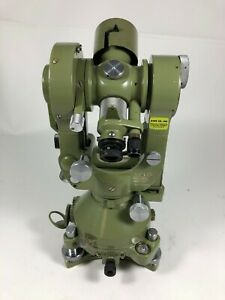 Wild Heerbrugg T2 Theodolite Classic Degrees Inverted Telescope Image