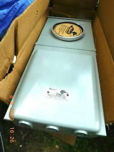 Midwest Mp38ca3 Meter Socket Temporary Power Panel Load Center With Receptacle